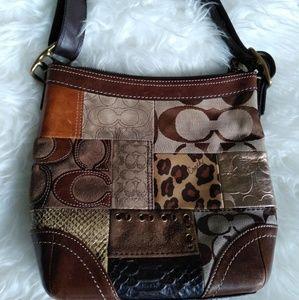 Coach Purse Limited Edition Patchwork Handbag